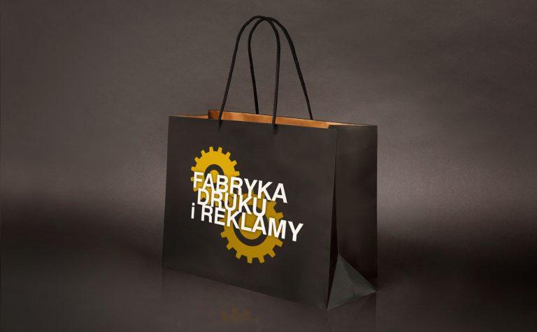 Fabryka Druku iReklamy – wizualizacja torby reklamowej