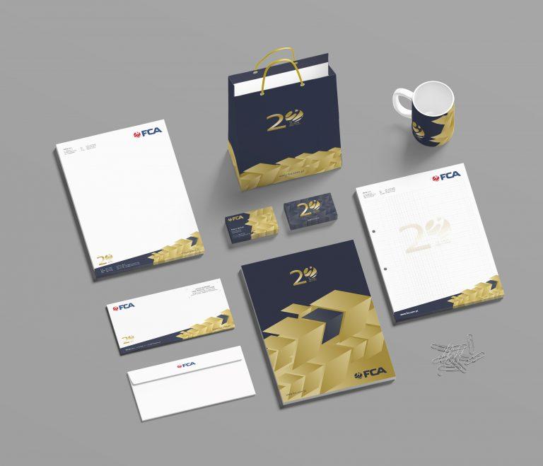 FCA – jubileuszowe materiały CI