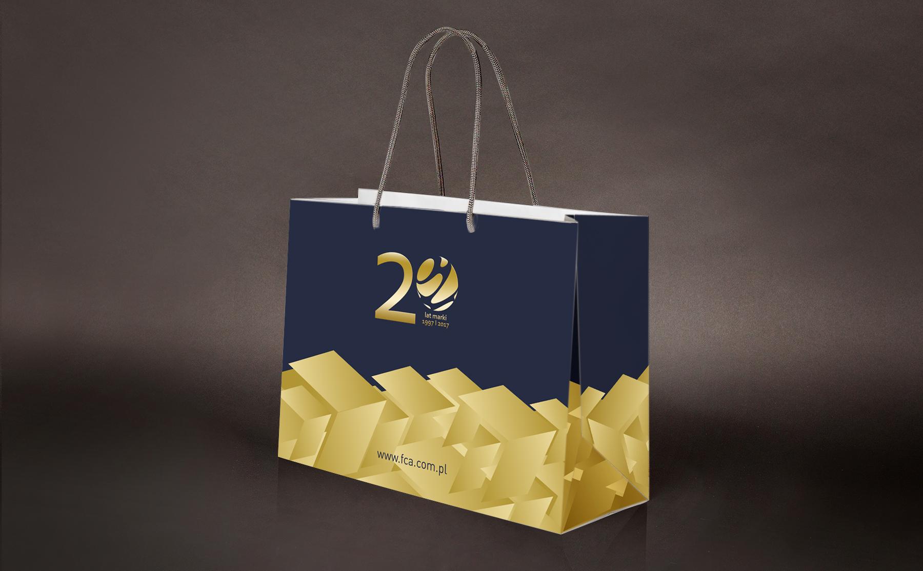 FCA – wizualizacja torby papierowej