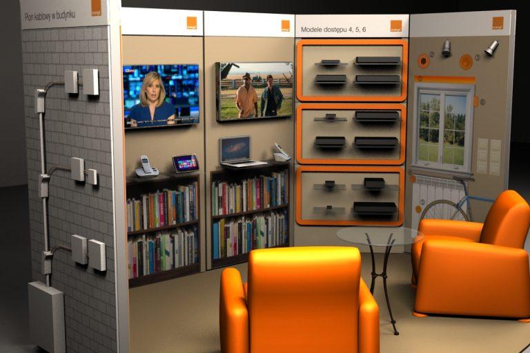 Orange Polska SA – wizualizacja 3D Demonstratora Technologii Dostępowych