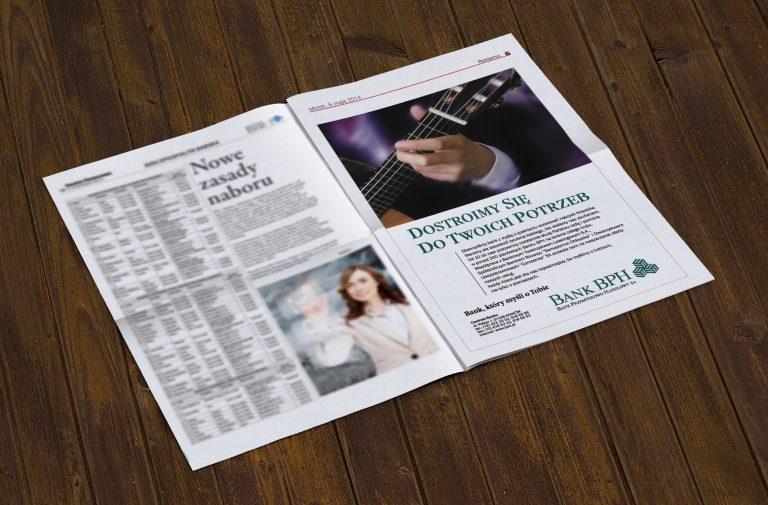 Bank BPH SA – seria ogłoszeń prasowych