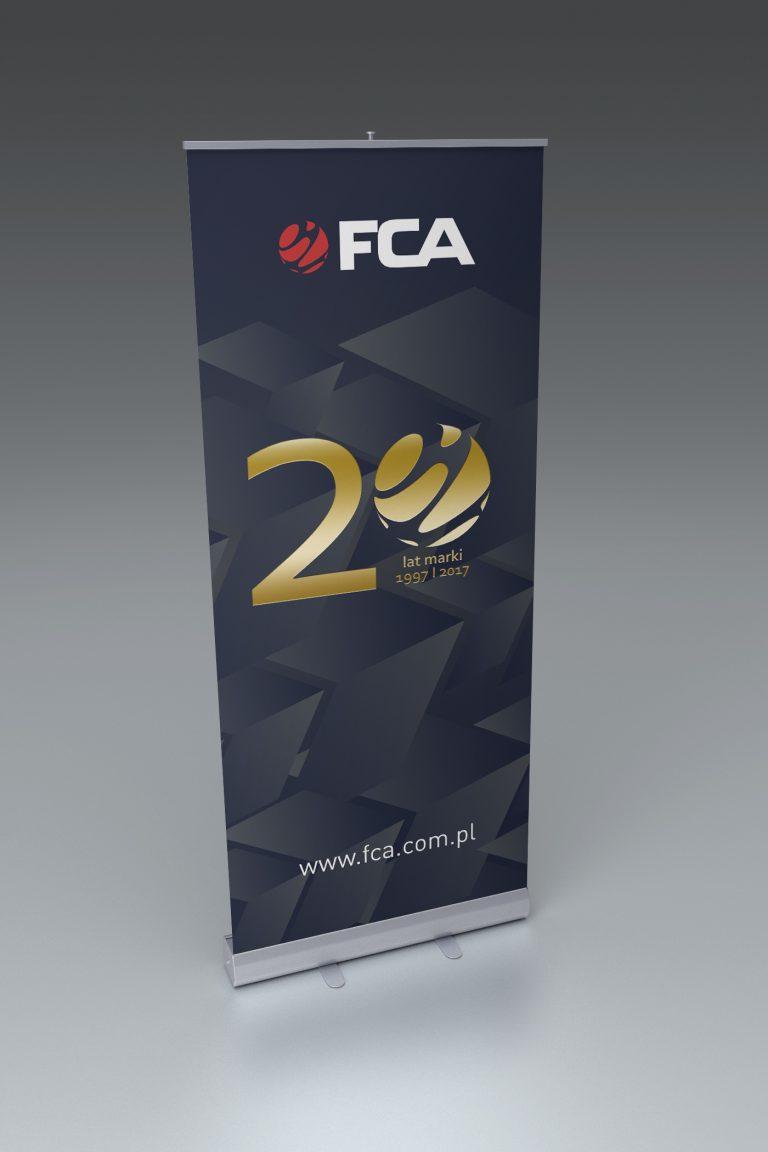 FCA - Rollup'y na20 lecie marki