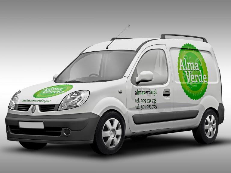 Alma Verde – oznakowanie floty samochodowej