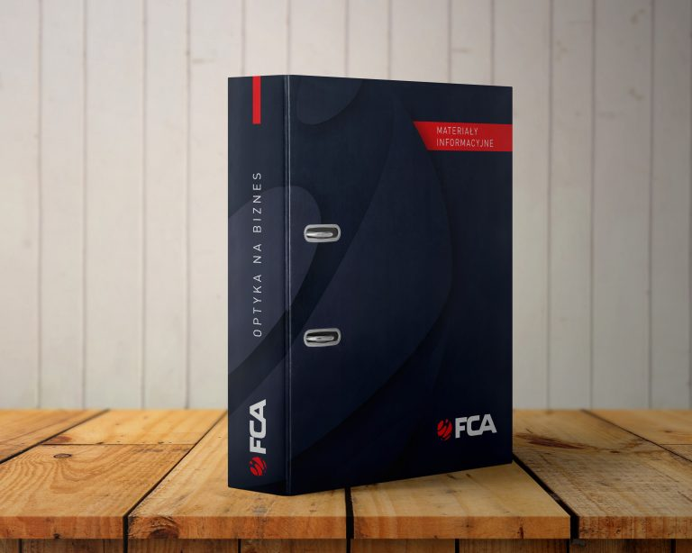 FCA – projekt segregatora firmowego