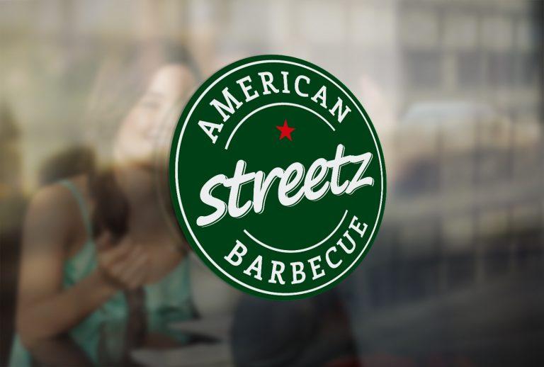 Stretz American BBQ – projekt logo iCI restauracji amerykańskiej