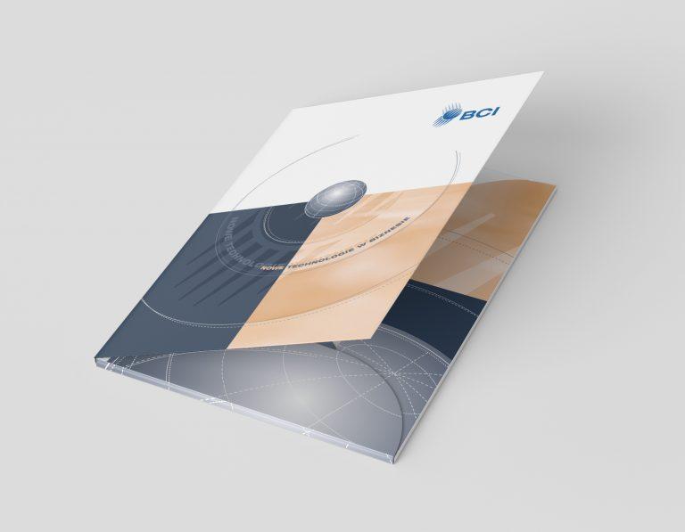 BCI – projekt teczki firmowej