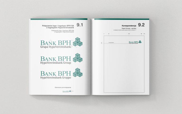 Bank BPH SA – Projekt logo orazsystemu identyfikacji wizualnej