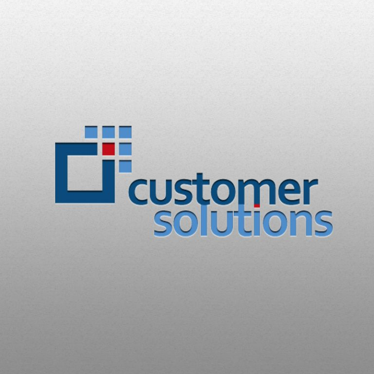 Customer Solutions – projekt logo i Corporate Identity dla firmy konsultingowej