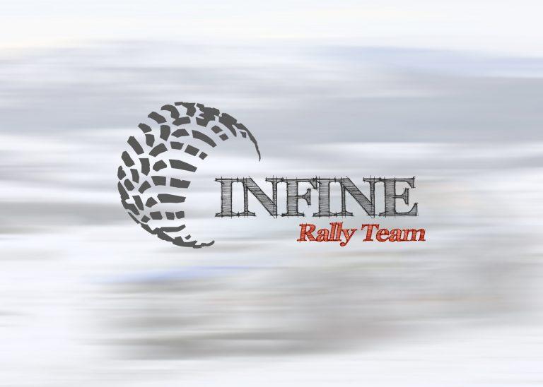 INFINE – projekt odmiany logo dlateamu rajdowego