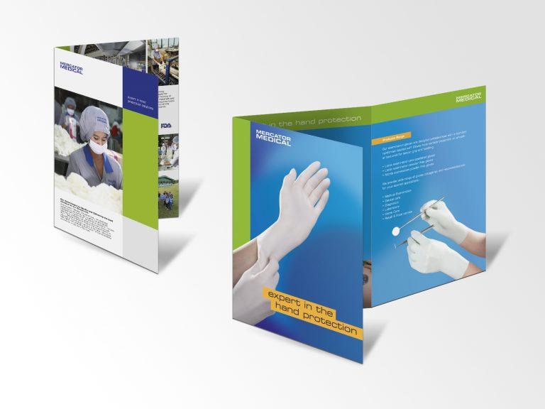 Mercator Medical SA – projekty folderów promocyjnych
