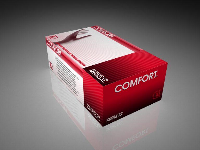 Mercator Medical SA – projekt opakowania rękawic Comfort