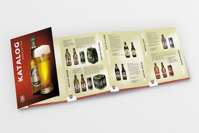 Browary Okocim SA – Projekt katalogu produktów