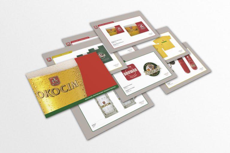 Browary Okocim SA – projekt katalogu materiałów promocyjnych