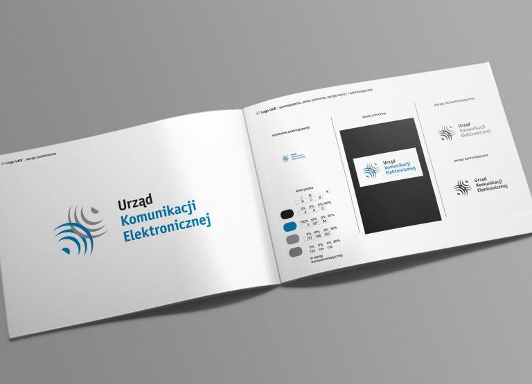 Urząd Komunikacji Elektronicznej – projekt konkursowy logo urzędu