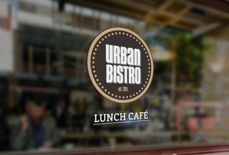 Urban Bistro – projekt logo Lunch Cafe
