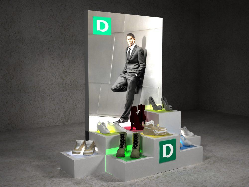 Deichmann – propozycja systemu wystawienniczego