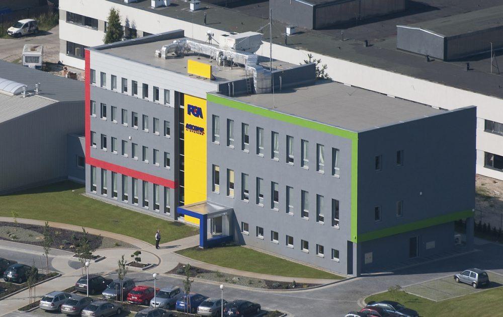 FCA – restylizacja siedziby firmy (2009)